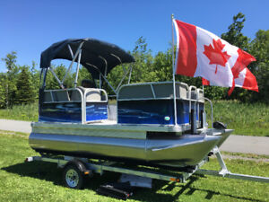 Pre-order now & sale * NEW 14Ft or 16 Ft Compact Pontoon*  NL