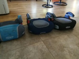 Graco booster seats. 2 left!