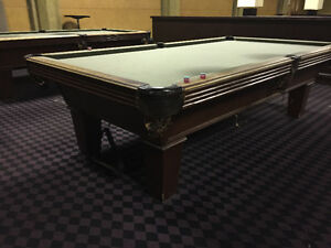 9 FOOT OLHAUSEN POOL TABLE