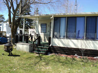 GREAT TRAILER IN PINEGROVE PARK ON CHEMONG LAKE