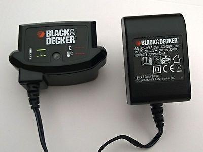 Akku-Ladegerät BLACK&DECKER für Bohrmaschine,Shearer und Rasentrimmer cod.