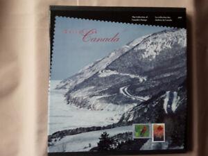 Collection souvenir annuelle timbres 1997 Postes Canada