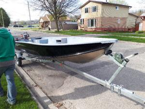 2011  Yamaha G3 boat and trailer
