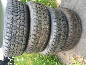 4 studded winter Tires and rims Cole Harbour