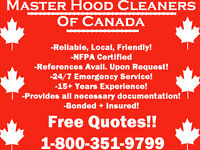 Master Hood Cleaners of Canada!