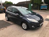 2012 FORD FIESTA TITANIUM ECONETIC 1.6 TDCI, MANUAL, ONLY 75,000 MILES FROM NEW