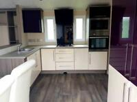 Complete package double glazed static caravan, with Decking and 2018 site fees!