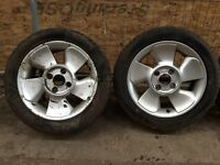 Ford puma alloys with new tyres