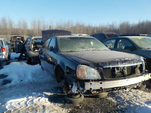 2002 Cadillac Deville Now Available At Kenny U-Pull Cornwall