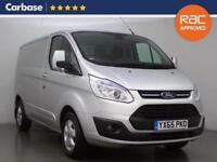 2015 FORD TRANSIT CUSTOM 2.2 TDCi 125ps 270 L1 Low Roof Limited Van