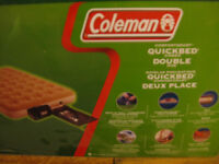 Coleman inflatable double airbed mattress