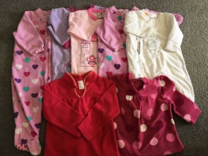 Baby Girl Coverall