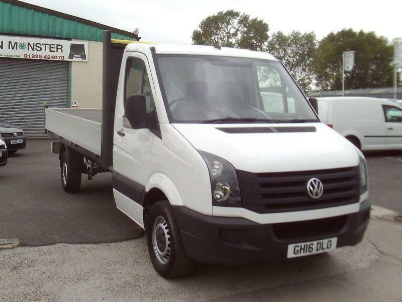 Volkswagen Crafter CR35 13ft 2.0tdi Dropside 136ps DIESEL MANUAL WHITE (2016)