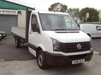 Volkswagen Crafter CR35 lwb 2.0tdi D/Cab Dropside 136ps DIESEL MANUAL (2016)