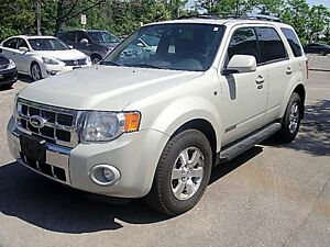 2008 Ford Escape Limited, 4WD, Leather, Sunroof