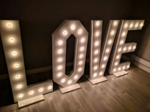 LOVE light up sign for rent!