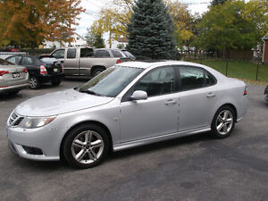 2008 Saab 9-3 Aero: AWD, Only 100Kms,Leather, Roof,Drives Great!