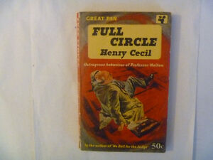 FULL CIRCLE by Henry Cecil - 1958 British Paperback