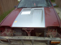 1987 Dodge Shelby Charger Hood
