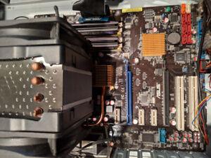 Asus P5Q-Pro Motherboard + Intel Q9400 + 8GB DDR 2 RAM Combo