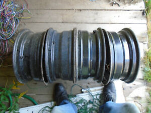 """Four 15"""" - 5X114.3 steel wheels for sale (Were on a Civic)"""