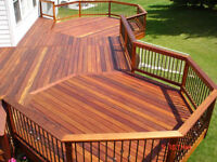 Professional Deck and Fence Builder-Contractor