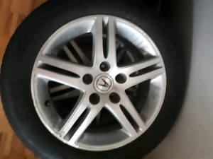 Acura csx mags 16 inches