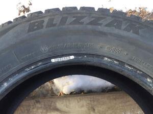 4 Blizzak Winter Tires