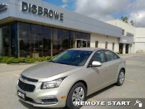 2015 Chevrolet Cruze 1LT  - Certified - Remote Start -  Bluetoot