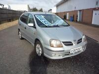NISSAN ALMERA TINO SE TD..Trade PX to Clear... 2003 Diesel Manual in Silver