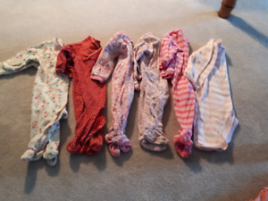 Girls 3 - 6 month clothes