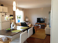 New and Bright 2 Bedroom + small office area, in Central Hfx for