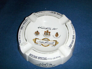 VINTAGE NESTOR GIANACLY SULTAN SPECIAL ASHTRAY-CAIRO-EGYPT