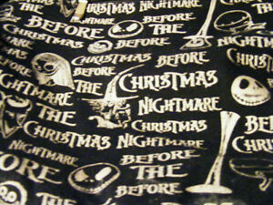 the nightmare before christmas bag