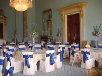 Wedding & Event dressing, Chair Covers & Sashes, Starlit Package, Candy Cart, Postbox & Centrepieces