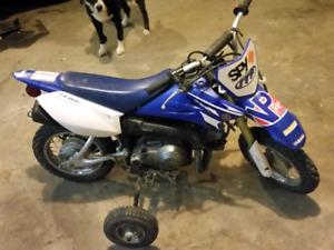 2008 yamaha 4 stroke 50 cc kids bike