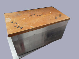 Dry Ice Storage Chest Box Container 3 CuFt Winterization -75C