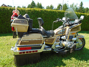 Moto GoldWing 1985 Édition Limited