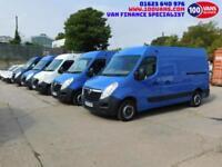 VAUXHALL MOVANO 2.3CDTI 16v 100ps EUROV L2H2 M/ROOF MWB 3300 CHOICE OF 5
