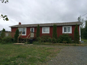 Renovated 2 bedroom home on almost 3 acres in Clarenville!
