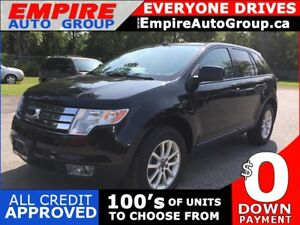 2010 FORD EDGE SEL * AWD * LEATHER * PANORAMIC SUNROOF * SAT RAD