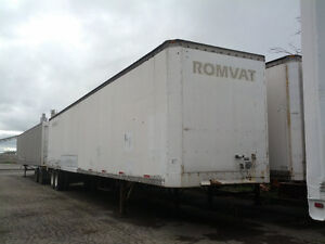 city delivery or storage trailer