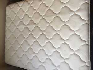 Queen size mattress and a bed frame for sale