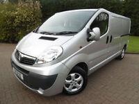 2013/63 Vauxhall Vivaro SPORTIVE 2900 2.0 CDTi 115ps WITH AIR/CON