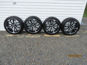 Ford factory rims with tires