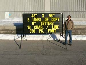 Portable signs .......Mobile signs