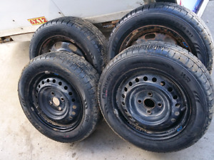 4 all weather tires P175/65R14 for Honda Fit/civic