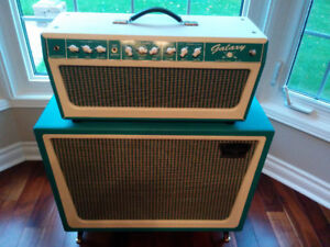 Tone King Galaxy Head and Cab with Creambacks, Covers