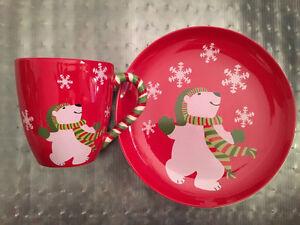 Holiday Dish Set