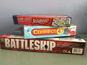 3 BRAND NEW BOARD GAMES